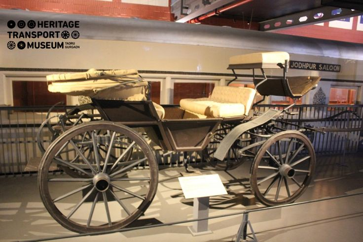 Horse carriages of the ancient times too had their own panache! Here's a look at the Double Victoria Carriage or Cranchee of the early 20th century! This design in the horse carriages were introduced in India by the British!