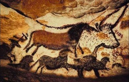 Cave paintings - Coliboaia Cave, 35.000 BCE