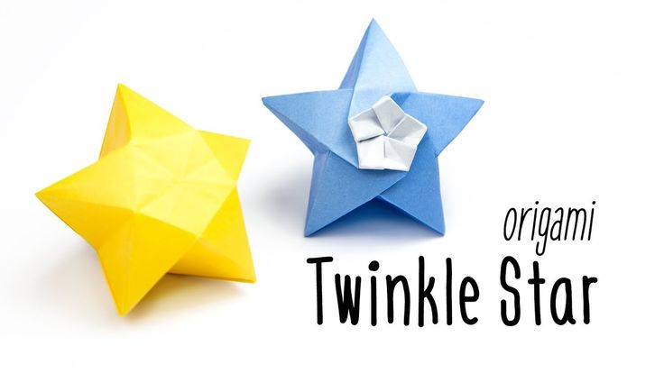 Origami Twinkle Star Tutorial ★ Inflatable Star ★ Paper Kawaii