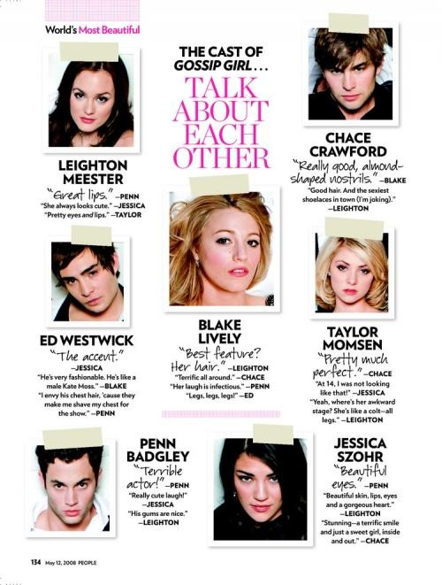 the young cast of  u0026quot gossip girl u0026quot  talk about each other