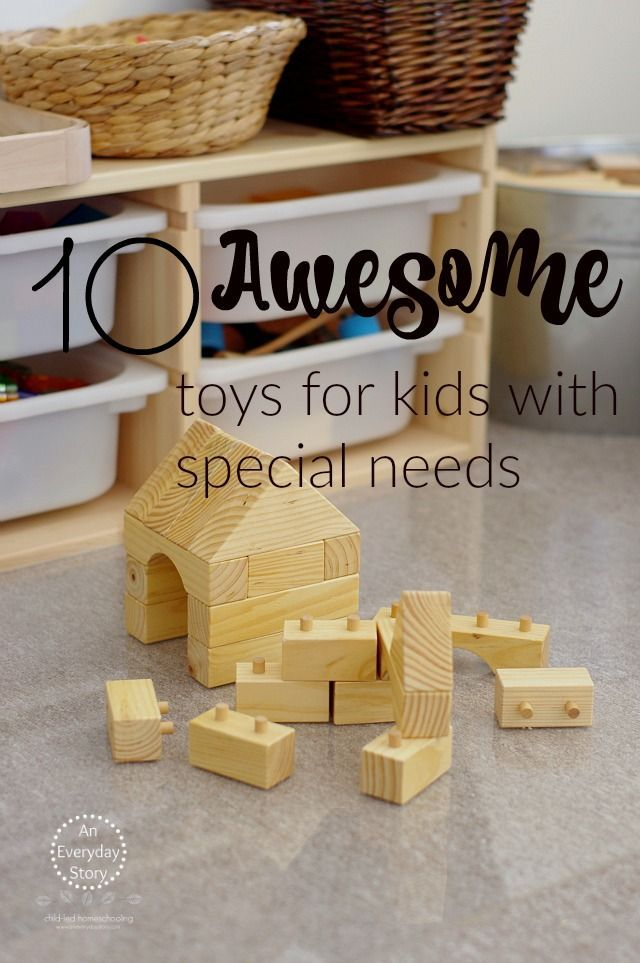Do you have a child with special needs? Then you will LOVE the toys in this post. They are all amazing quality and help children achieve their therapy goals through play. From An Everyday Story