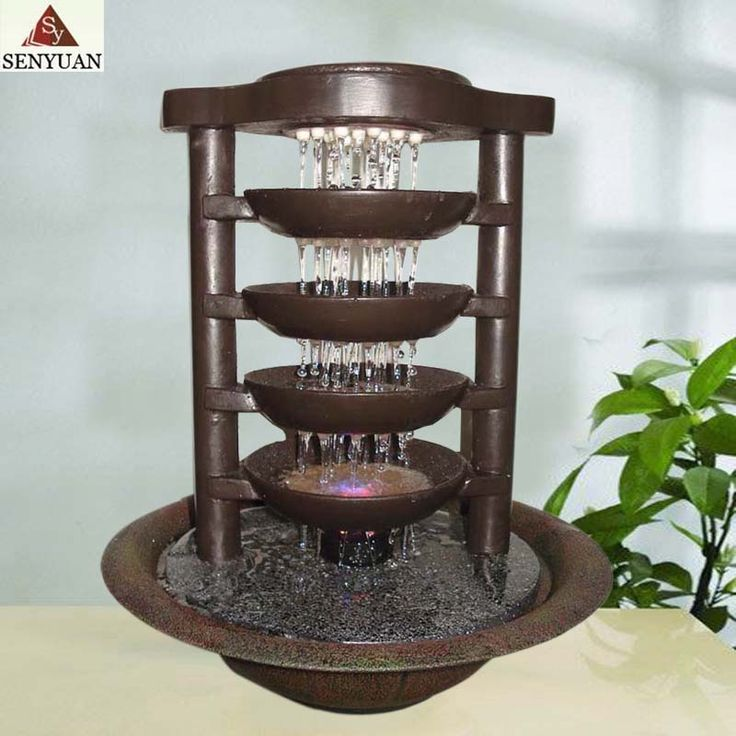119 best Fountains images on Pinterest | Indoor fountain, Garden ...