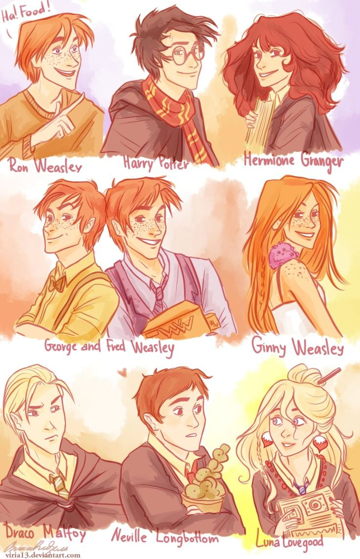 A little Harry Potter Fan Art to do you in. This artist is incredible and a huge HP fan | deviantart profile *viria13