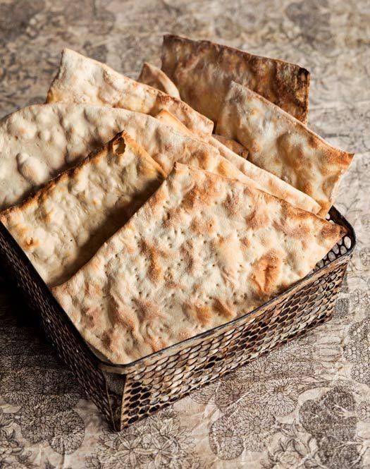 Homemade Matzoh Recipe by Noag and Rae Bernamoff via leitesculinaria.com