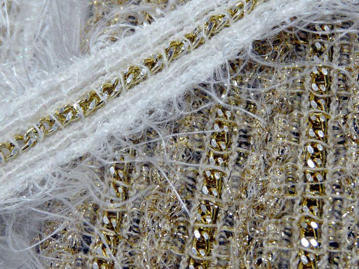 Новые виды отделочной тесьмы, кружева, эластичных лент и резинок появились в продаже в отделе фурнитуры. Производство Италия.