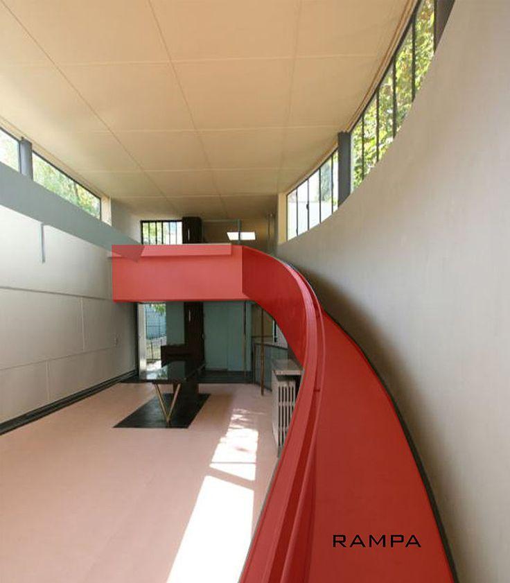 Rampa Interior - Villa La Roche - Wikipedia, la enciclopedia libre