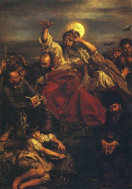 Wernyhora, 1883-1884 - Jan Matejko