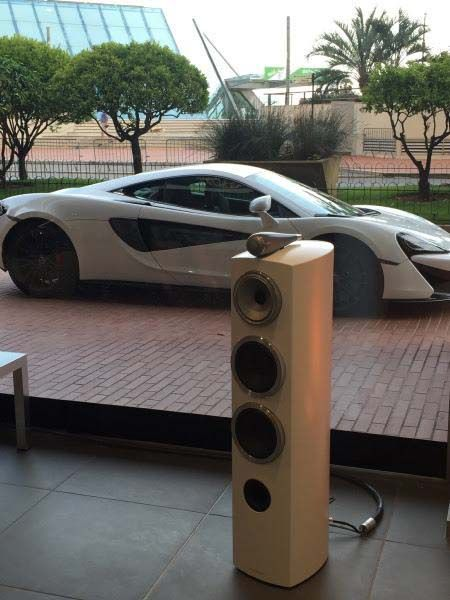 #Bowers&Wilkins#mclaren#music#804D3#RotelRA1592#Zeppelinwireless# Bowers & Wilkins have been present in Monaco during the McLaren Pure event. Show room set up included the 804 D3, Rotel RA1592 and Zeppelin Wireless. A great sign of things to come with McLaren!