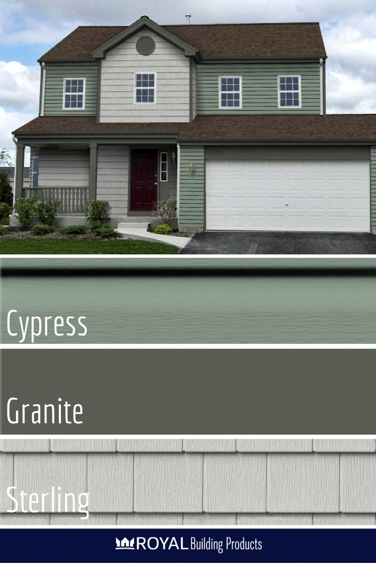 Exterior window trim ideas 2bwith vinyl siding - Crisp Green Exteriors Royal Woodland In Cypress Paired With Portsmouth Cedar Shingles
