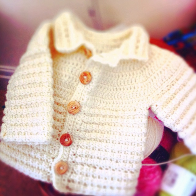 67 best crochet cardigan baby images on pinterest baby knitting crocheted baby cardigan fandeluxe Gallery
