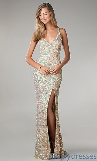 1000  ideas about Long Sequin Dress on Pinterest  Sequin gown ...