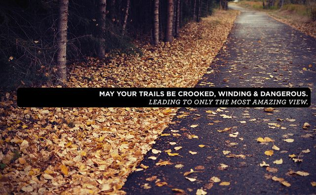 : Photos Quotes, The Roads, Life, Paths, The View, Happy Trails, Amazing View, Leaded, Leaves