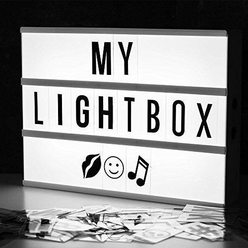Locomocean Light Up Your Life Cinematic A4 Lightbox, Plas…