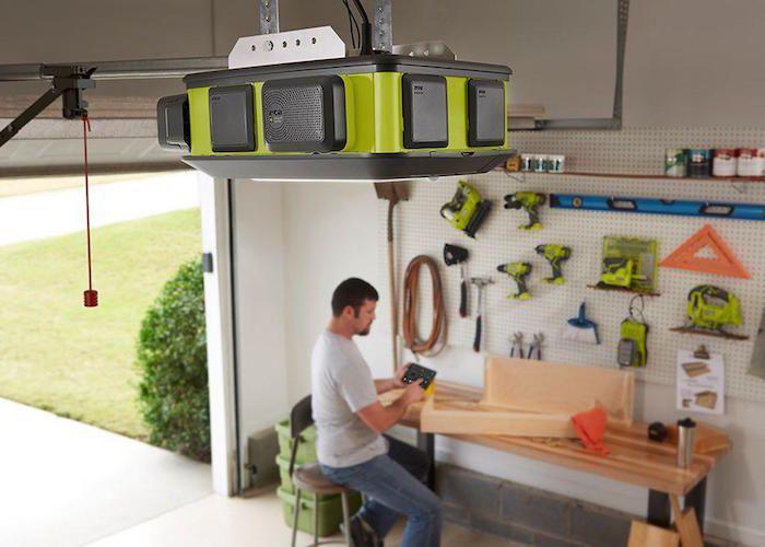 RYOBI Ultra-Quiet Garage Door Opener & Best 25+ Quiet garage door opener ideas on Pinterest | Garage door ... pezcame.com