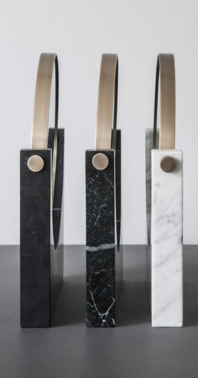 The Menu Pepe Marble Miror designed by Studio Pepe is durable, solid and meant to last, year after year after year.