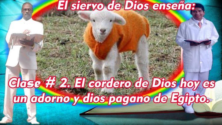 El cordero de Dios hoy es un adorno