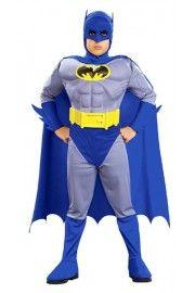 Çocuk Kaslı Batman Kostümü