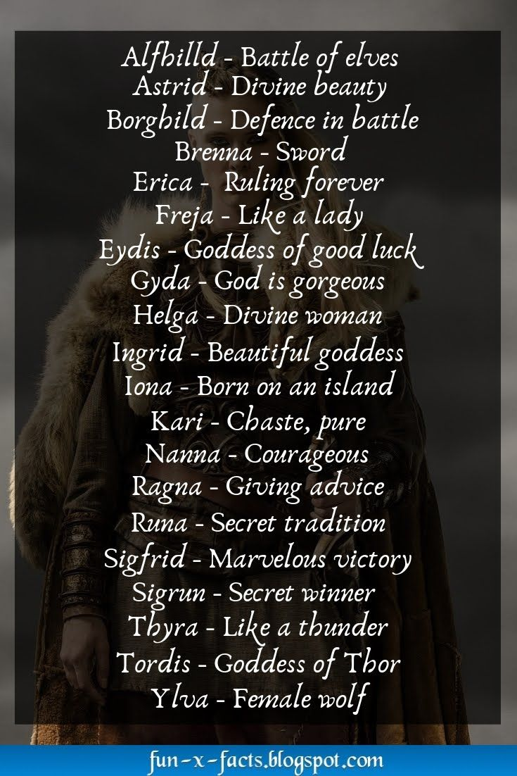 Top 20 Female Viking Names Old Norse Female Names Viking Names Norse Female Names Female Viking Names