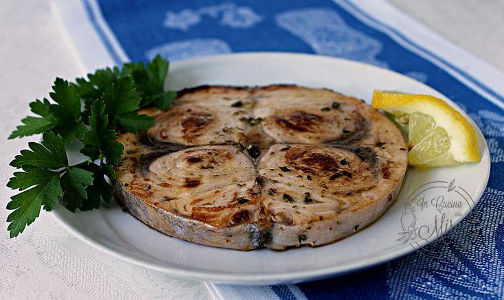 Pesce spada alla piastra, è un secondo piatto delicato e gustoso…