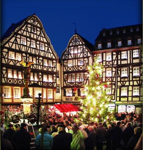 Christmast Market  in Bernkastel Kues Germany