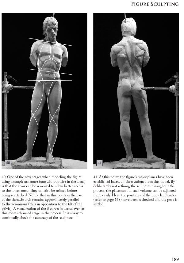 Book 3: Figure Sculpting Volume I: Planes & Construction Techniques in Clay by Philippe Faraut
