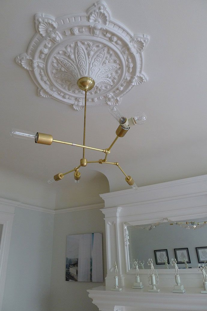 1000 Images About Diy Sputnik Chandeliers On Pinterest Chandeliers Bell Jars And Brass