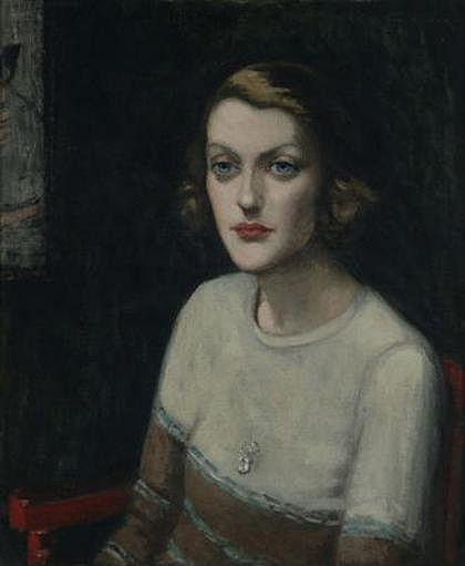 Sunday Reed.    Agnes Goodsir.   Portrait of Sunday Baillieu Quinn, Paris 1929. Heide Museum of Modern Art Collection. Gift of Dr Joseph Brown  AO OBE through the Heide Foundation 2006