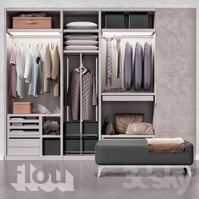 Wardrobe FLOU