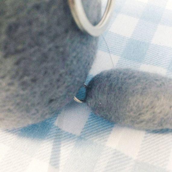Needle Felted Totoro Studio Ghibli Handmade Wool by PurrsandFurs