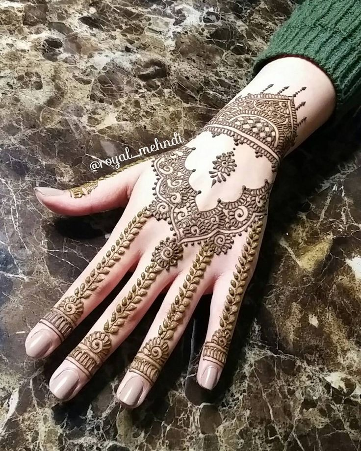 See this Instagram photo by @royal_mehndi • 501 likes