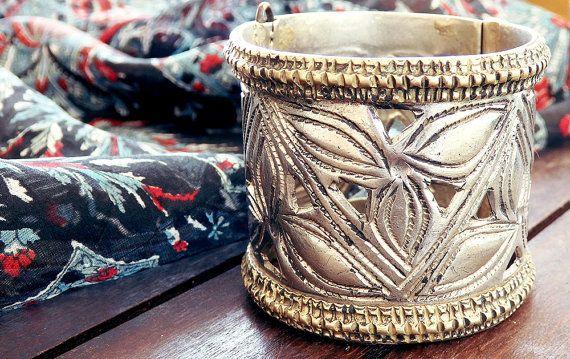 Old Afghan bracelet Afghan jewelry Banjara tribal by CarmelaRosa