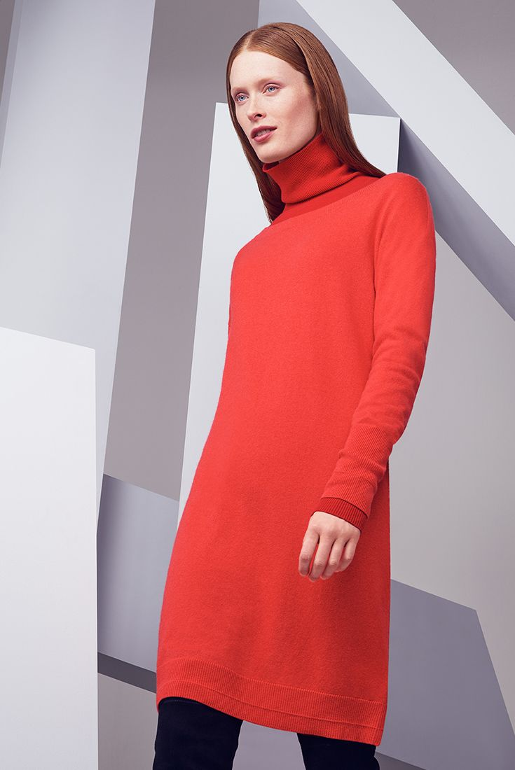 Colour your wardrobe with bright bold red.