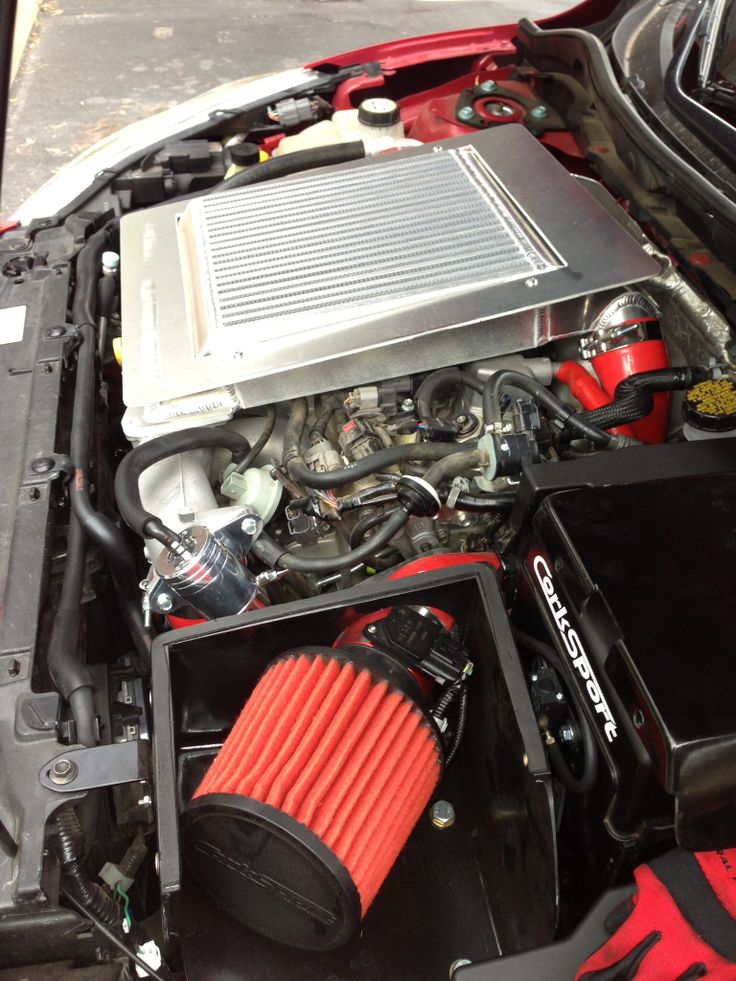 Mazdaspeed Engine Bay With Mods My Car Cars Pinterest