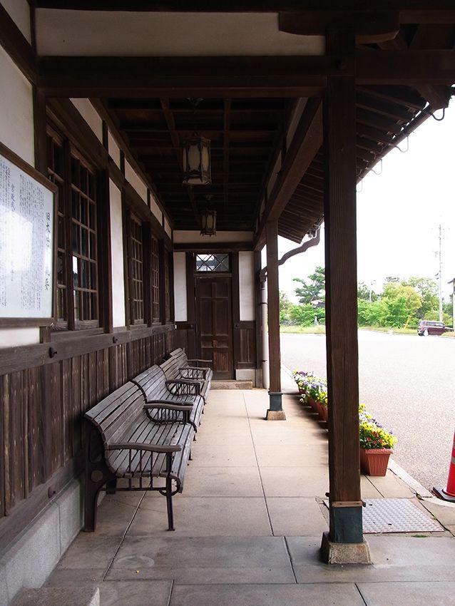 旧大社駅。雰囲気あります。