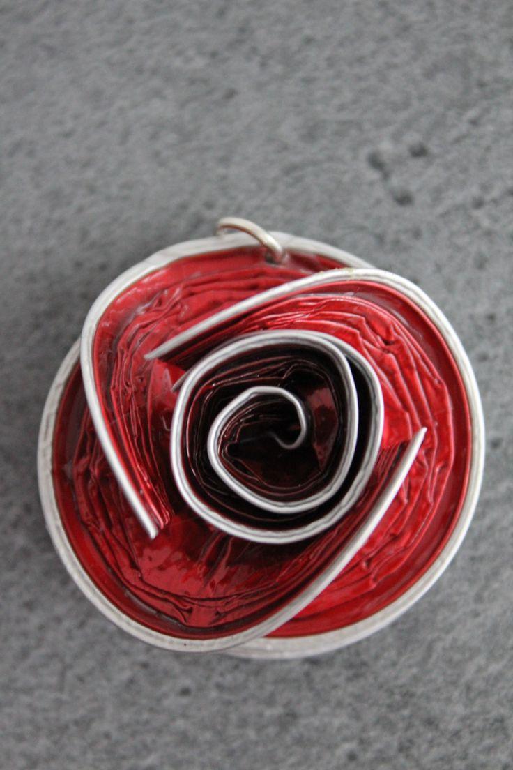 Pendentif Nespresso rouge