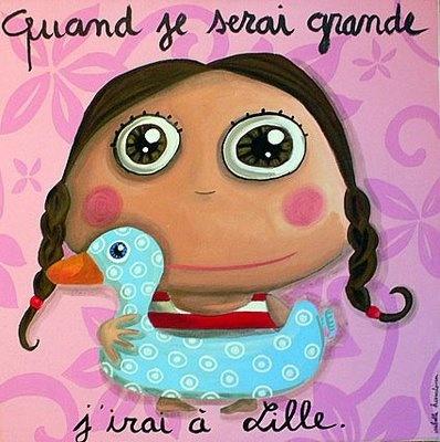 Quand je serai grande, j'irai à Lille