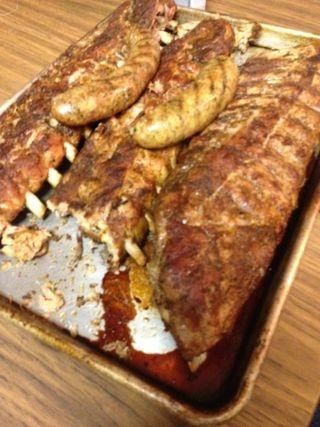 Ribs on the Cajun Microwave