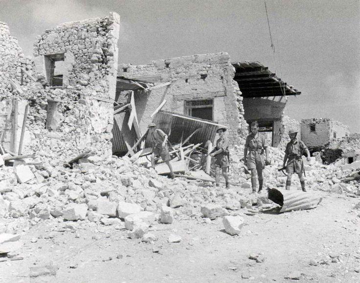 August 1941. Allied troops besieged inside Tobruk.