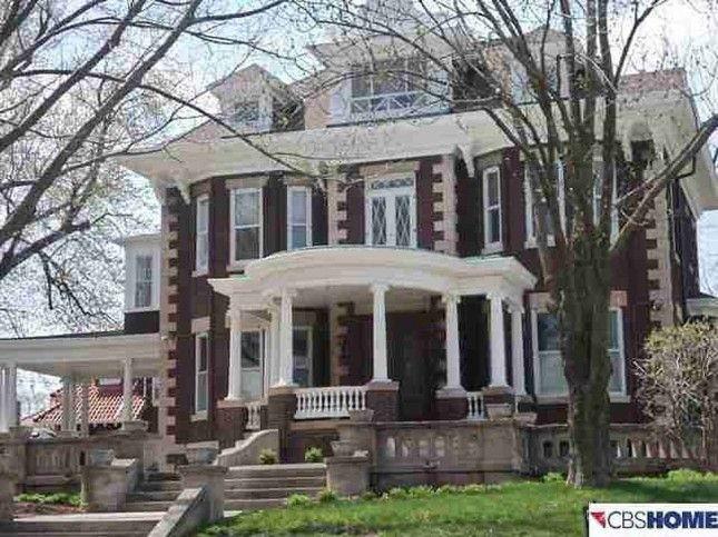 S. B. Doyle House ~ Omaha, Nebraska ~ 1908 Colonial ...