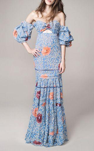 Dama De Las Camelias Dress by Johanna Ortiz