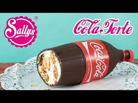 Coca Cola Flaschen Torte / Coca Cola Bottle Cake / No Bake / Ohne Backen - 24.01.16 - Schokolade richtig schmelzen mit der Impfmethode - YouTube