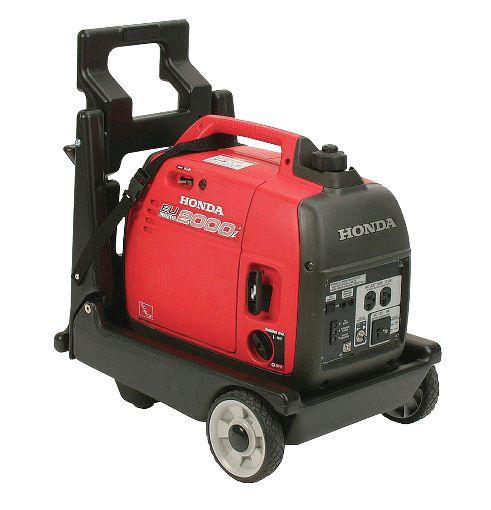 Long Island Power Equipment East  631-293-0777 http://www.lipowerequipment.com/  Honda EU2000i cart. Adds wheels to your EU2000i. Includes a transportation strap to secure your generator.