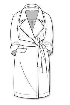 17 Best Images About Coats And Jackets Line Drawings On