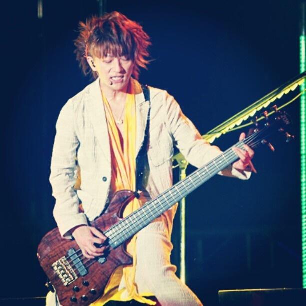 Flawless Tetsu-san :) #tetsuya #tetsu #larcenciel #LarukuJKT - @_keuriseu- #webstagram