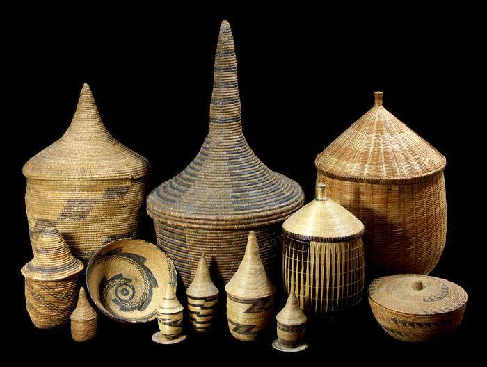 Woven Basket Art : Best african baskets images on art