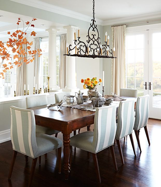 Sarah Richardson Dining Room: A New England-Style House By Sarah Richardson Design