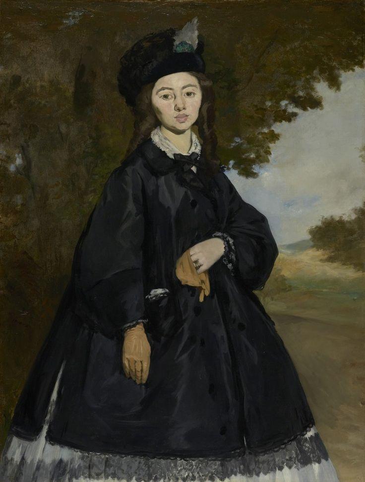 Édouard Manet, Portrait of Madame Brunet, 1860, oil on canvas