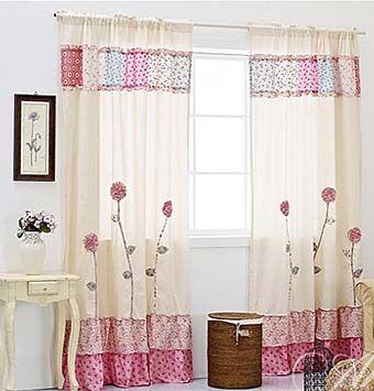 combinar los materiales para cortinas