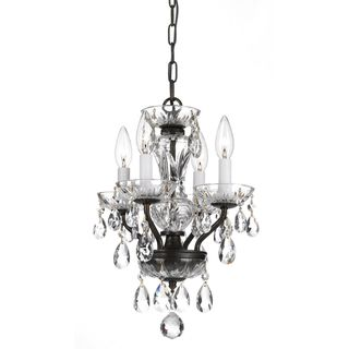 Magnificent Chandelier Online Shopping transparent large crystal chandeliers deckenleuchten fixture hotel maria theresa crystal pendelleuchte light for lobby foyer online Crystorama Transitional 4 Light English Bronze Crystal Chandelier By Crystorama