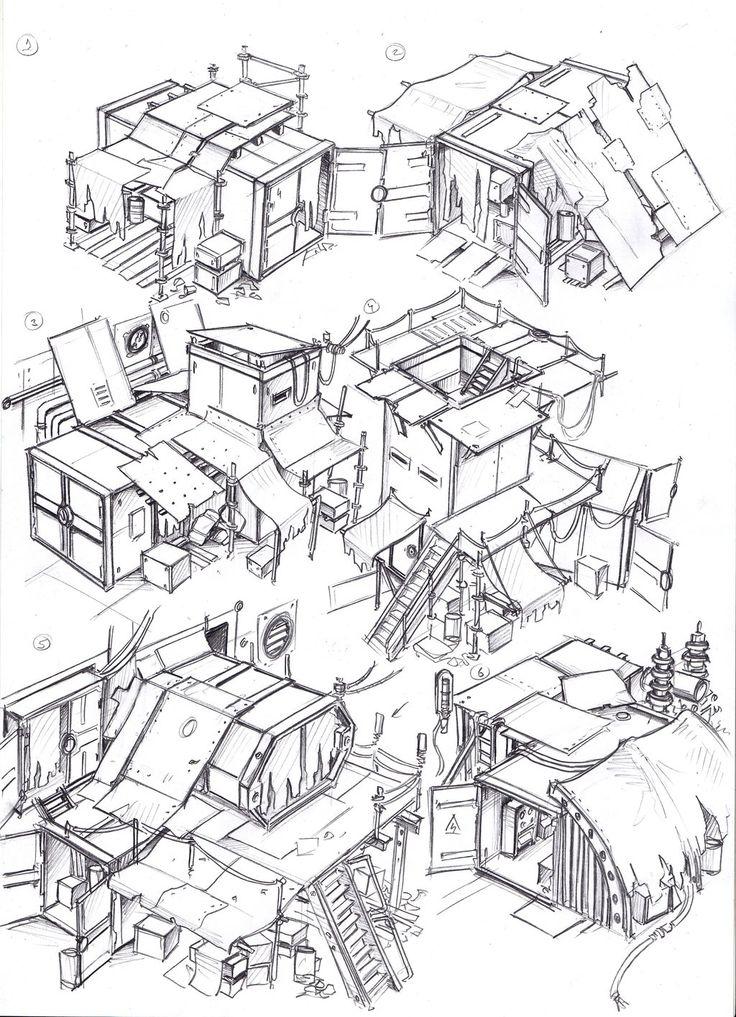 ::at home amongst the detritus::    env obj 47 by TugoDoomER on DeviantArt